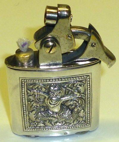 Зажигалка немецкой фирмы Kellermann, выпускалась с 1929 г.