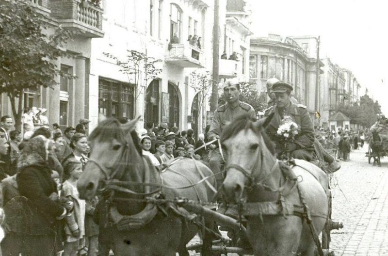 День Победы. Винница. Май 1945 г.