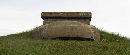 Командный бункер во время войны и сегодня.