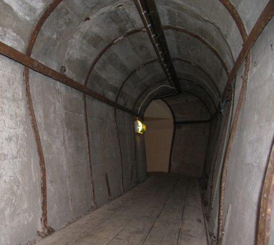 Тоннели форта.