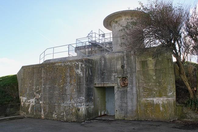 Командный бункер типа S414 в наши дни.