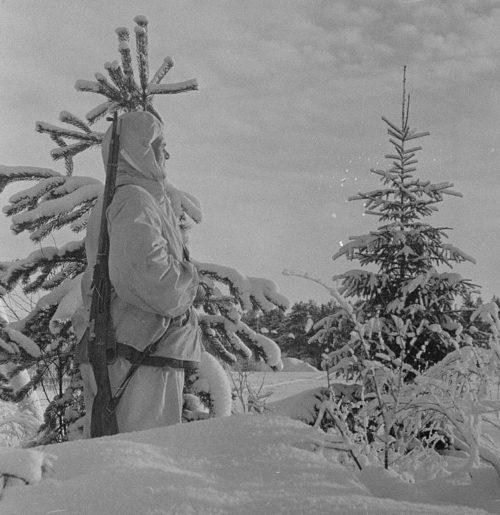 Финский часовой. Февраль 1940 г.