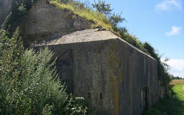 Бункер для хранения боеприпасов.
