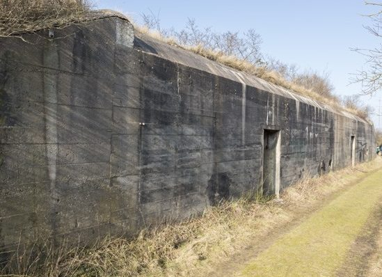Бункер типа Fl246 для хранения боеприпасов.