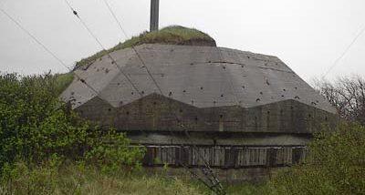 Каземат противотанкового орудия.