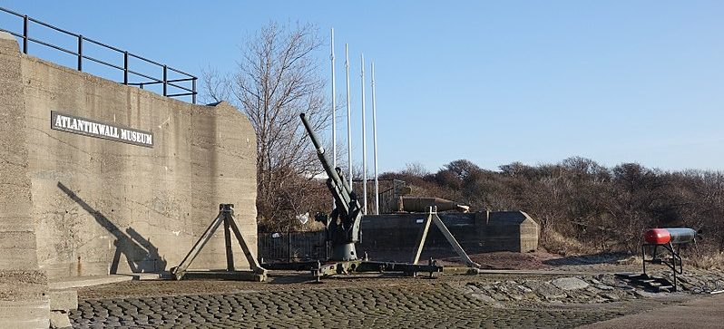 Музей на месте форта «Хук-ван-Холланд».