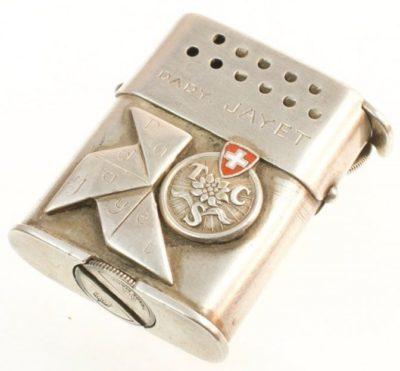 Зажигалка «Sarastro Auti» немецкой фирмы B & S SILVER, выпускалась с 1937 года.