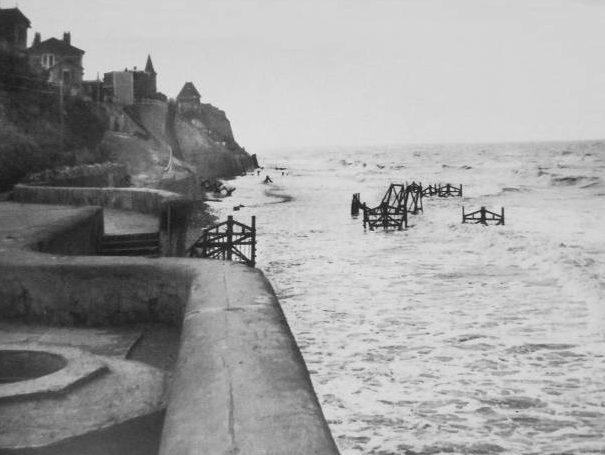 Береговые укрепления в годы войны и сегодня.
