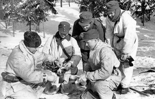«Чай» на финской передовой. Февраль 1940 г.