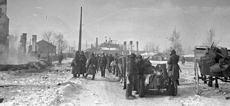 Красная Армия в Выборге. Февраль 1940 г.