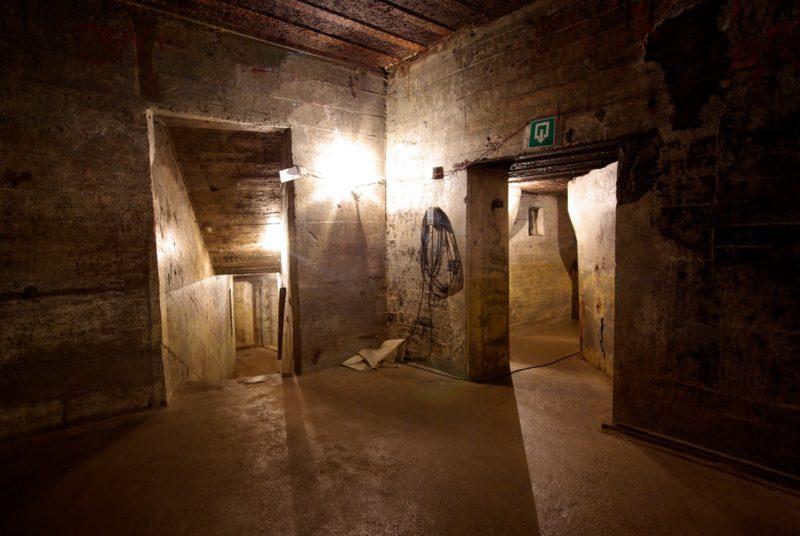 Фрагменты тоннелей.