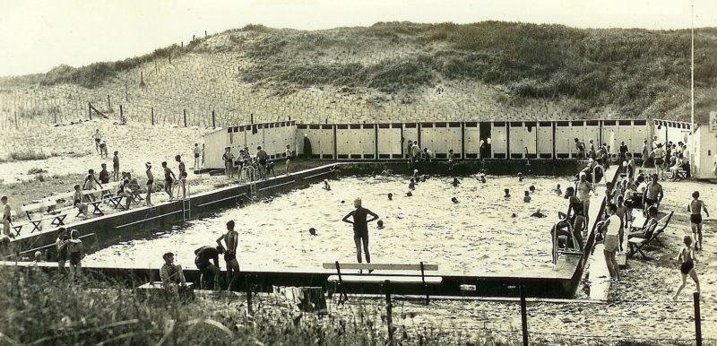 Бассейн для гарнизона батареи. 1944 г.