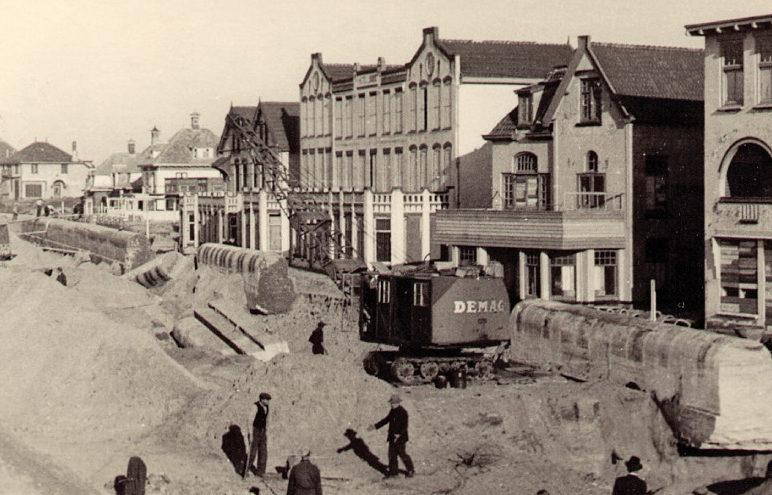 Демонтаж тоннелей батареи в 1953 г.
