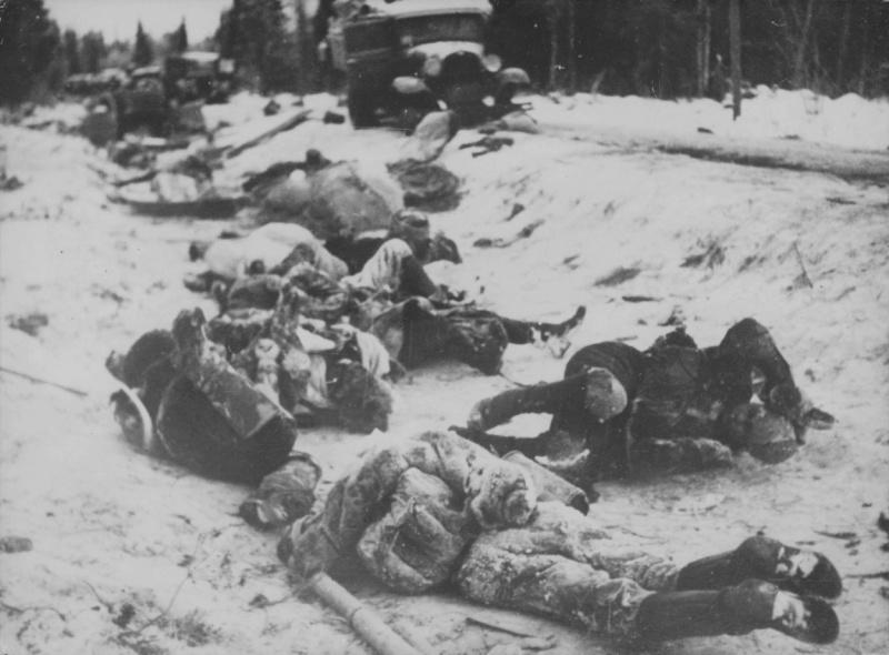 Южное Леметти после занятия финскими войсками. Март 1940 г.