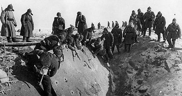 Разрушенные финские укрепления. Март 1940 г.