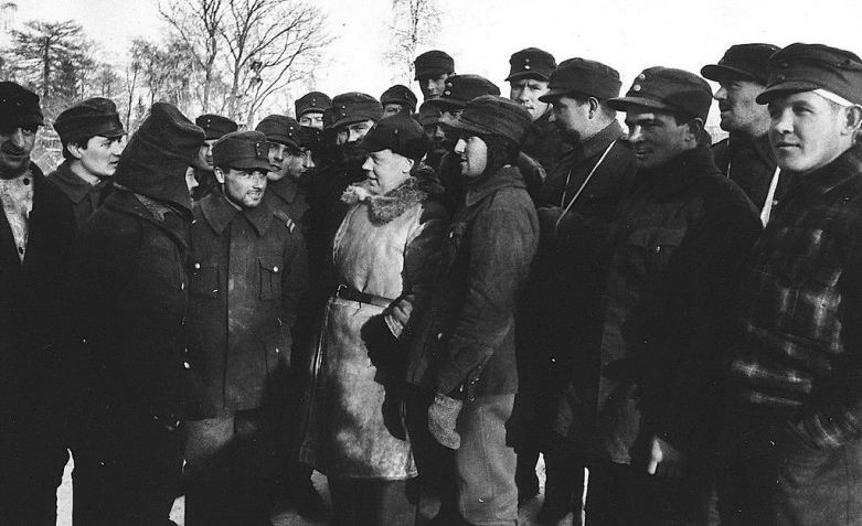 Пленные финны. Март 1940 г.