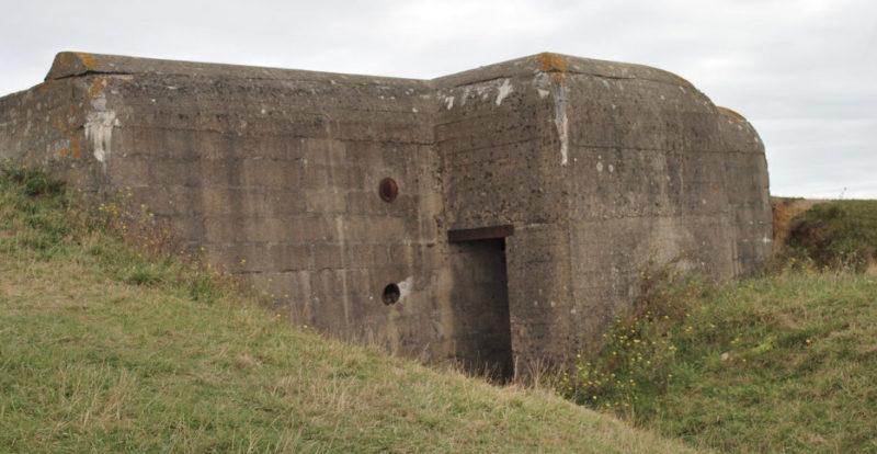 Бункеры батареи.