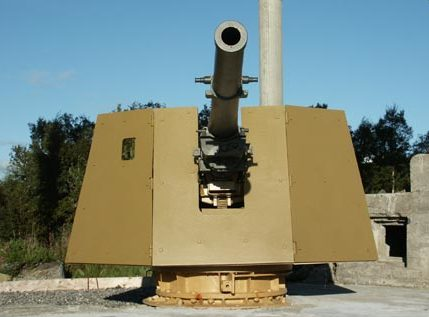 105-мм орудия.