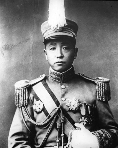 Правитель Маньчжурии Чжан Цзолинь.