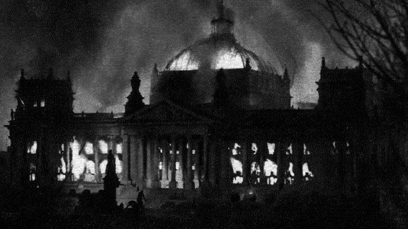 27.02.33 — поджог Рейхстага — Всё о Второй мировой