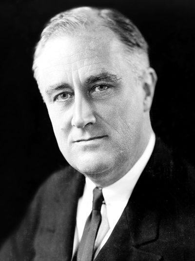 Франклин Делано Рузвельт в 1933 г.