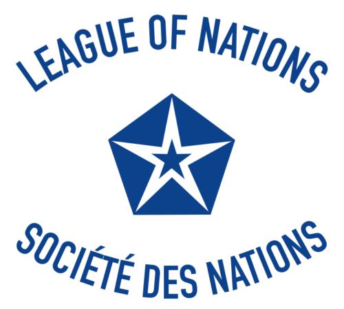 Флаг Лиги Наций.