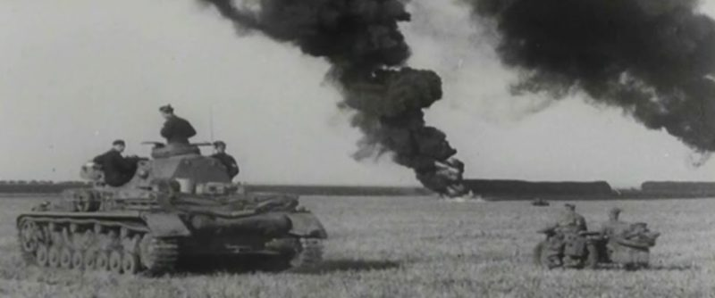 Немецкие войска на окраине города Николаева. Август 1941 г.