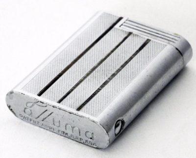 Зажигалки фирмы Alluma, выпускались в 1940-х годах.