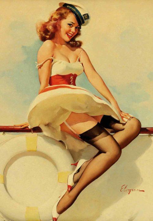 Рисунки «рin-up» 1930-х годов.