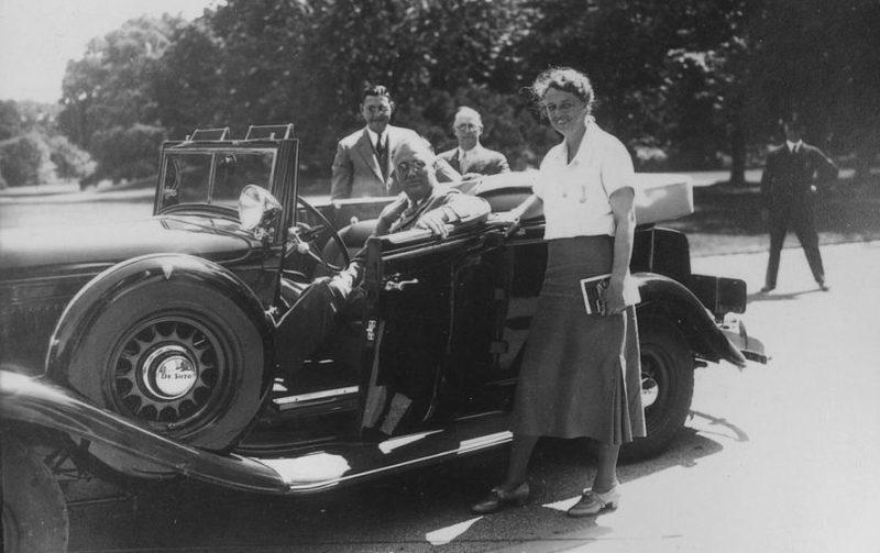 Франклин Д. Рузвельт и Элеонора Рузвельт. 1933 г.