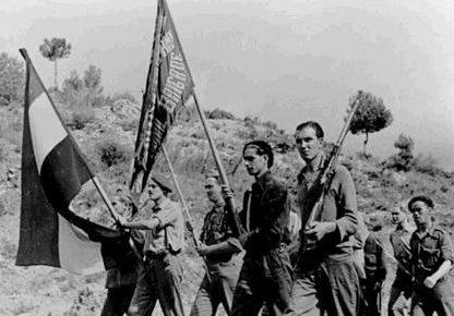 Шведские добровольцы в Испании. 1937 г.