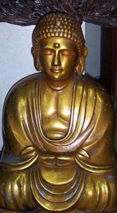 Вид статуи Будды в наши дни.