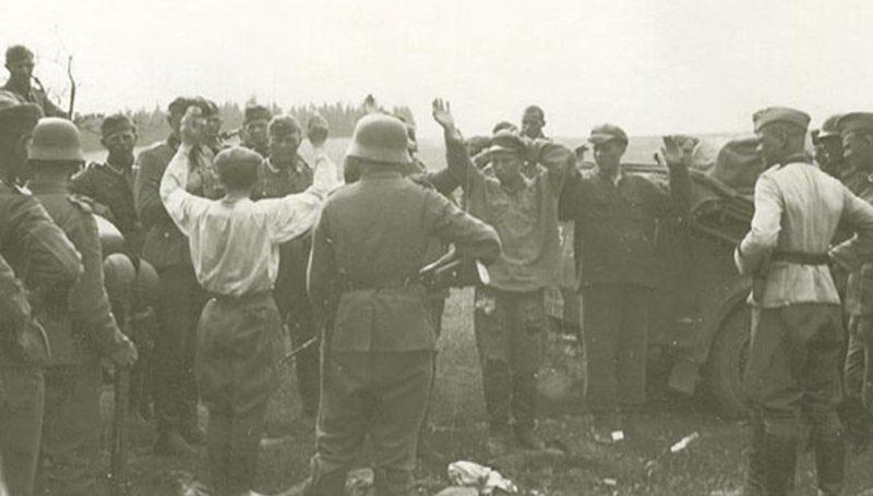 Советские военнопленные. Август 1941 г.