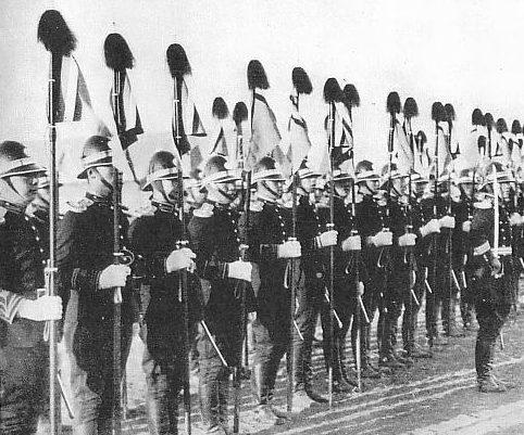 Императорская гвардия Маньчжоу-го.
