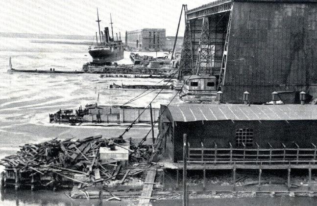 Судостроительный завод. Август 1941 г.