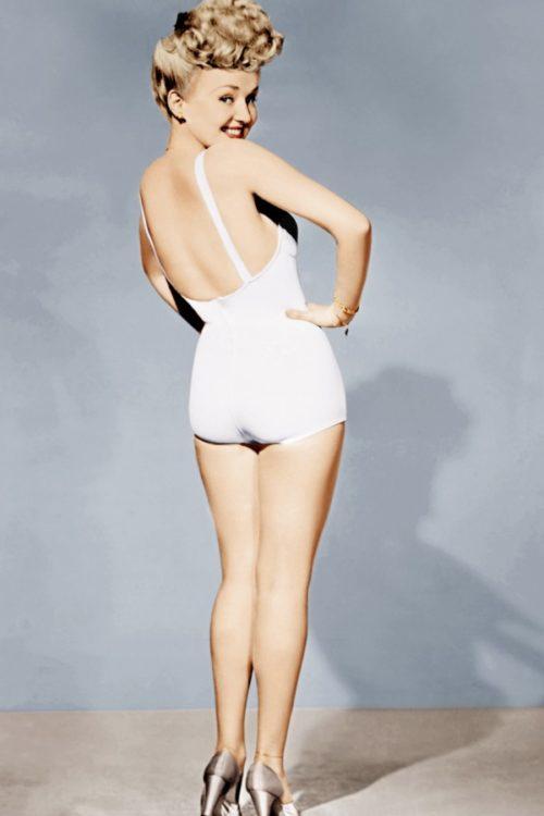 Модель «рin-up» - Бетти Грейбл.
