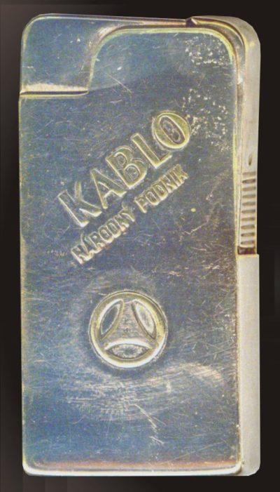 Зажигалка фирмы Kablo, выпускалась с 1935-го года.