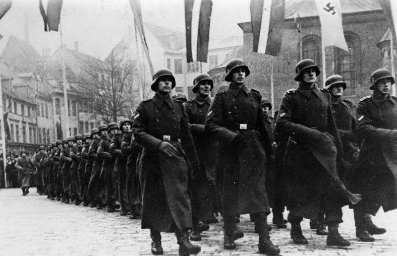 Латышский легион СС.