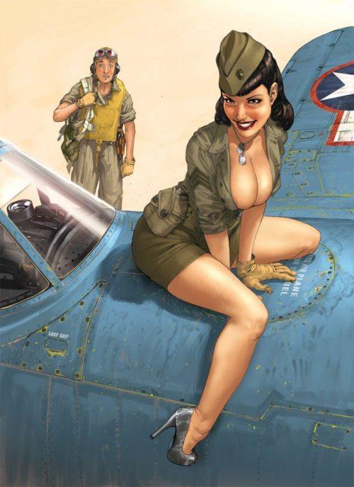 «Рin-up» модель Бетти Пейдж.