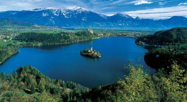 Озеро Топлитцзее.