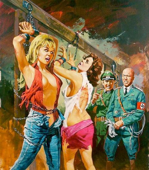 «Рin-up» из серии «Девушки в опасности».