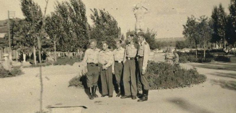 Немцы в парке Николаева. Сентябрь 1941 г.