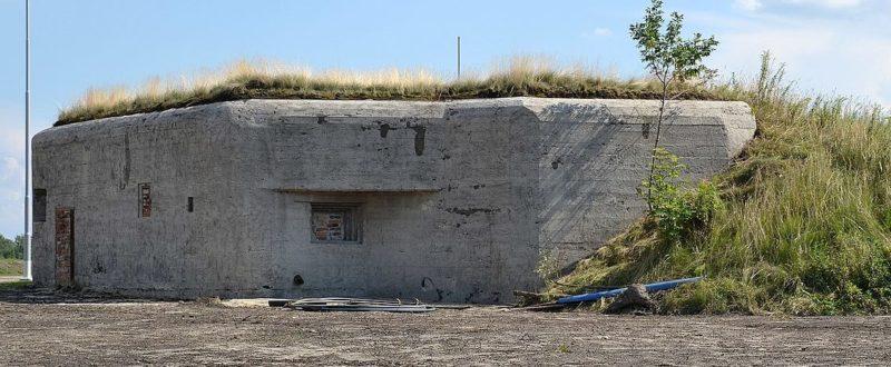 Артиллерийско-пулеметный ДОТ №34 в Руда Шленска.