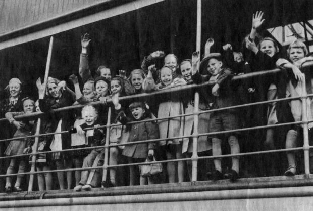 Эвакуация детей из Финляндии. 1941 г.