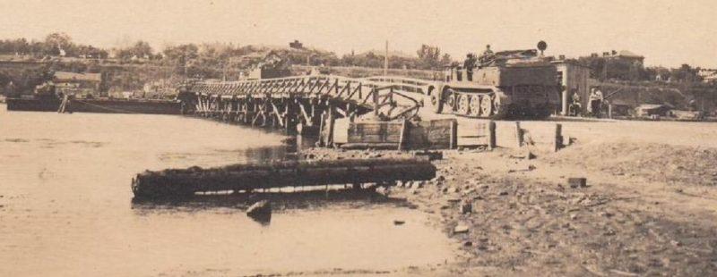 Ингульский мост. Осень 1941 г.
