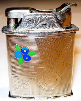 Зажигалки фирмы Evans Roller Bearing, выпускались в 1930-х годах.