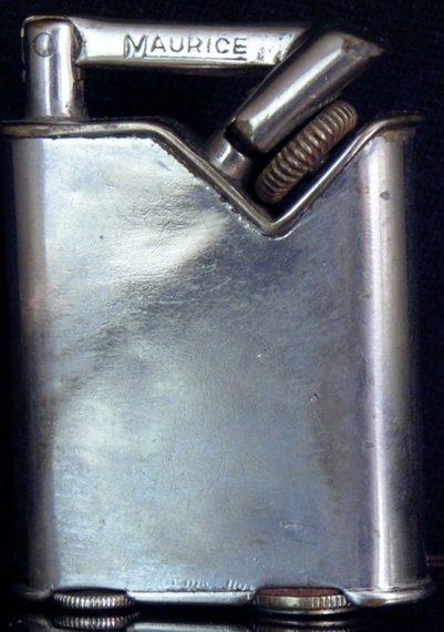 Зажигалки фирмы Maurice выпускались с 1933-го года.