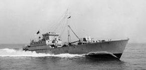 «Gay Viking» - один из военных быстроходных катеров, которыми шведы доставляли в Англию шарикоподшипники. 1942 г.