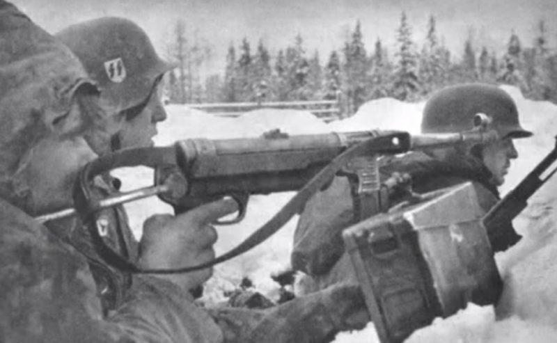 Солдаты эстонского подразделения СС.