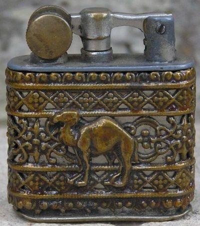 Зажигалка фирмы Myon, выпускалась в 1930-1940-х годах.